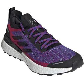 adidas TERREX Two Ultra Parley Trail Running Shoes Women scarlet/core black/hazy sky